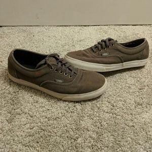 Men's Vans Authentic Sneakers in Gray (Mens 8)